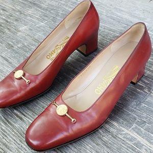 Salvatore ferragamo womens heels